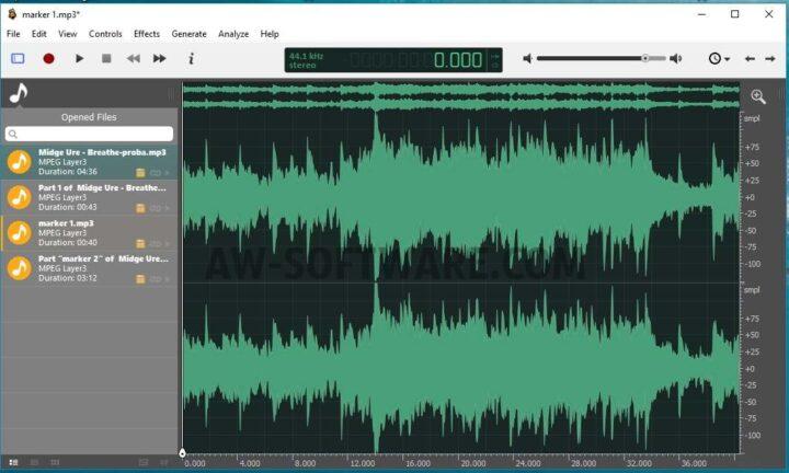 Ocenaudio descarca cel mai bun program de editat muzica gratis