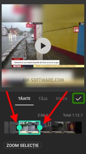 Cea mai buna aplicatie de taiat video Android