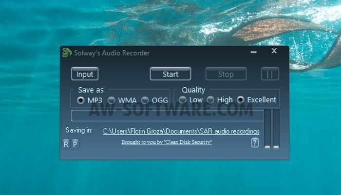 program de înregistrare audio Windows