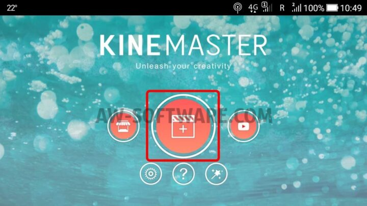 Kinemaster aplicatie de editat video android