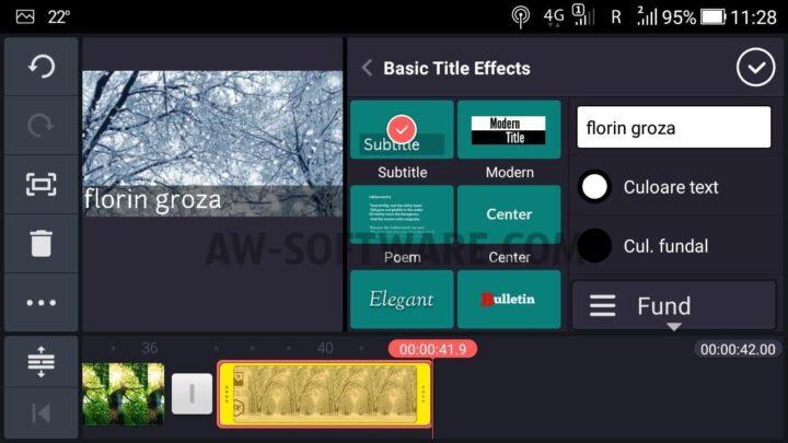 cea mai buna aplicatie de editare videoclipuri Kinemaster