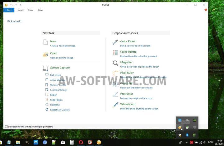 PicPick cel mai bun program de facut print screen