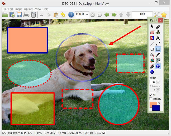 irfanview program editare poze gratis