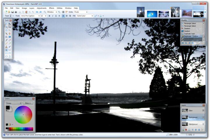paint net program gratuit de modificat poze